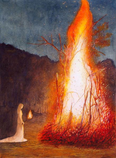Incontrare le antenate e il Fuoco Sacro